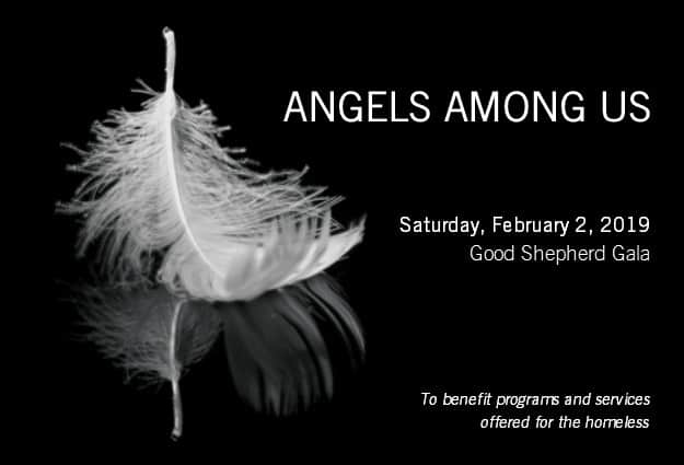 Invitation to the Angels Among us Gala on Saturday, February 3, 2019